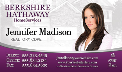 How to rebrand real estate agents with premium new business cards upcoming business card designs for berkshire hathaway colourmoves